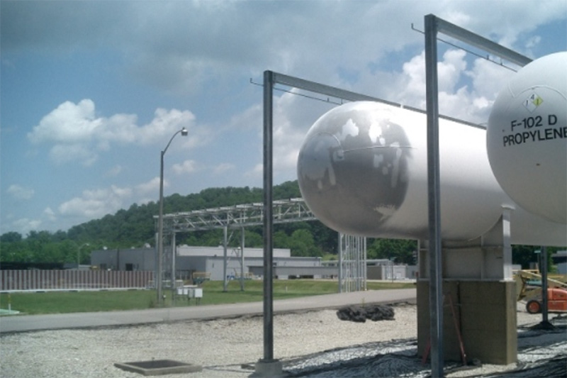 Sunoco Chemical Oil Tanks