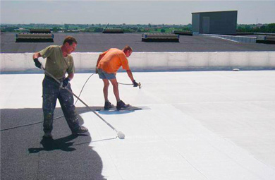 Application of Super Therm Insulation Coating