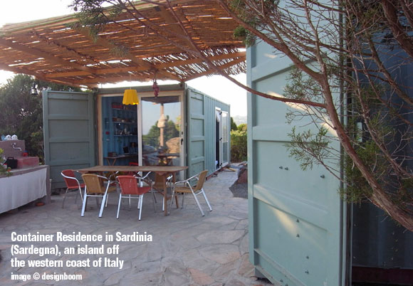 Container Residence, Italy