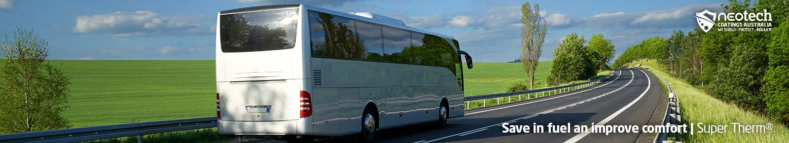 NEOtech Coatings | Super Therm® fuel savings with buses