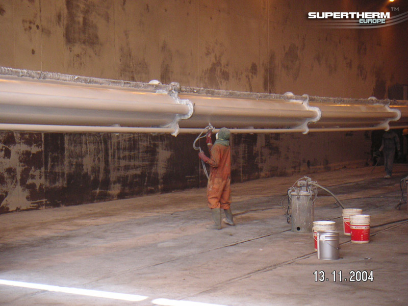 Underwater Pipes Anti-Corrosion System, Nigeria