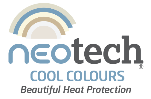 NEOtech Cool Colours logo - Beautiful Heat Protection