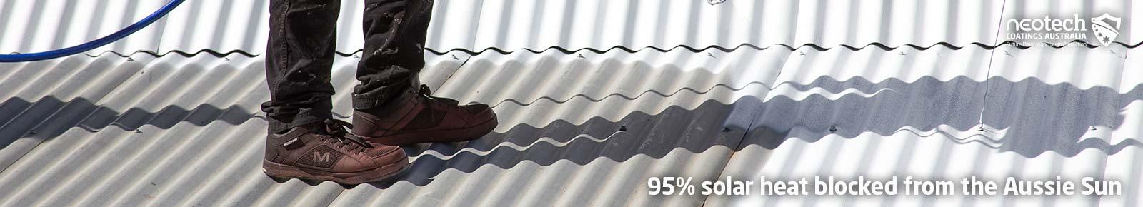 Super Therm 95% Solar Heat Block from the Australian Sun