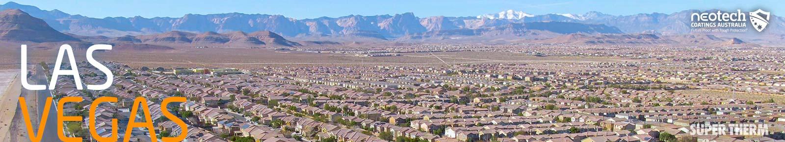 Las Vegas, Nevada - Super Therm Solar Heat Block Coating